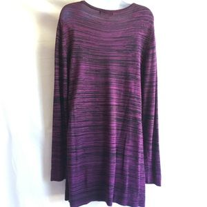 Cable & Gauge Sweaters - Cable and Gauge popover tunic sweater size M/L